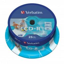 CD-R 52X BOBINA 25X...