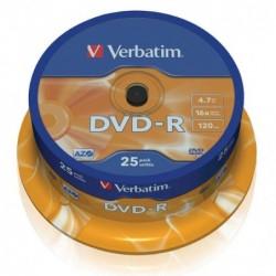 DVD -R 16X BOBINA 25...