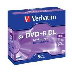DVD+R VERBATIM 4X 8.5GB...